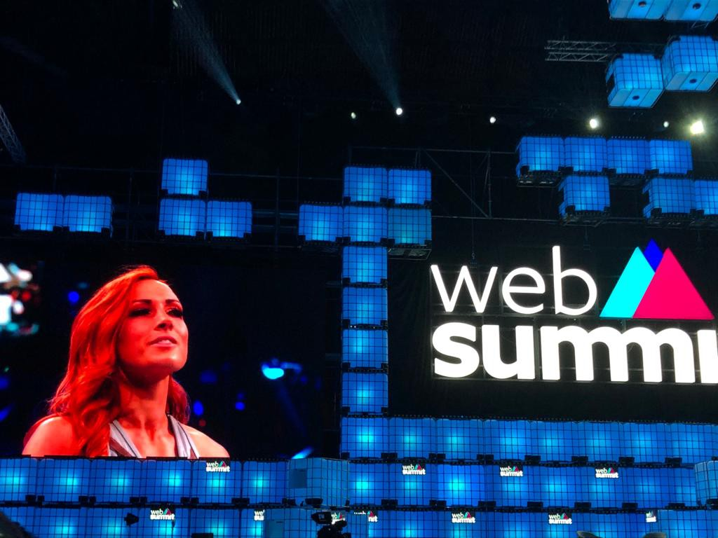 Web Summit 2019 Becky Lynch (WWE)
