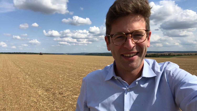 Charles, grain trader at Ameropa
